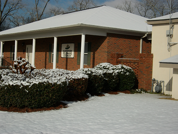 Business Office Snow